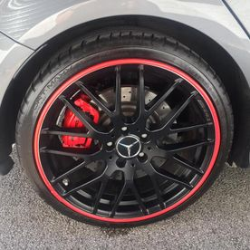 Effective and efficient alloy wheel protectors.